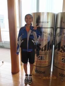 午後には道明生だけで四国アサヒビール工場を見学しました。