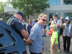 あっ!ウィリアム先生が逮捕されてしまいました!